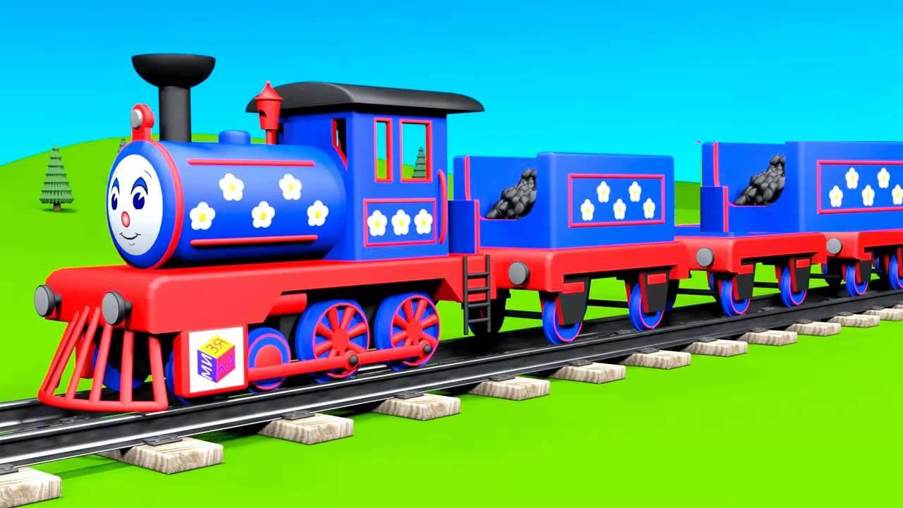 голубой вагон бежит качается ноты баян